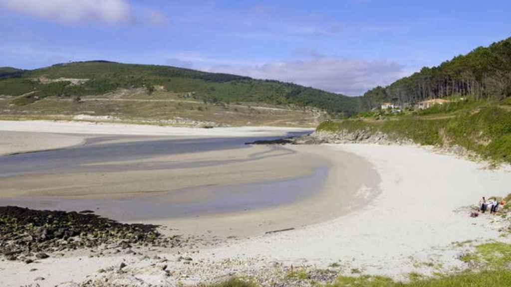 Playa de Lires, en la Costa A Morte de Galicia