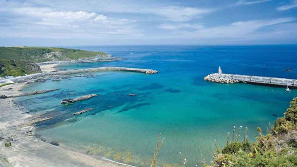 Playa 1º y 2º de Luarca, en Asturias