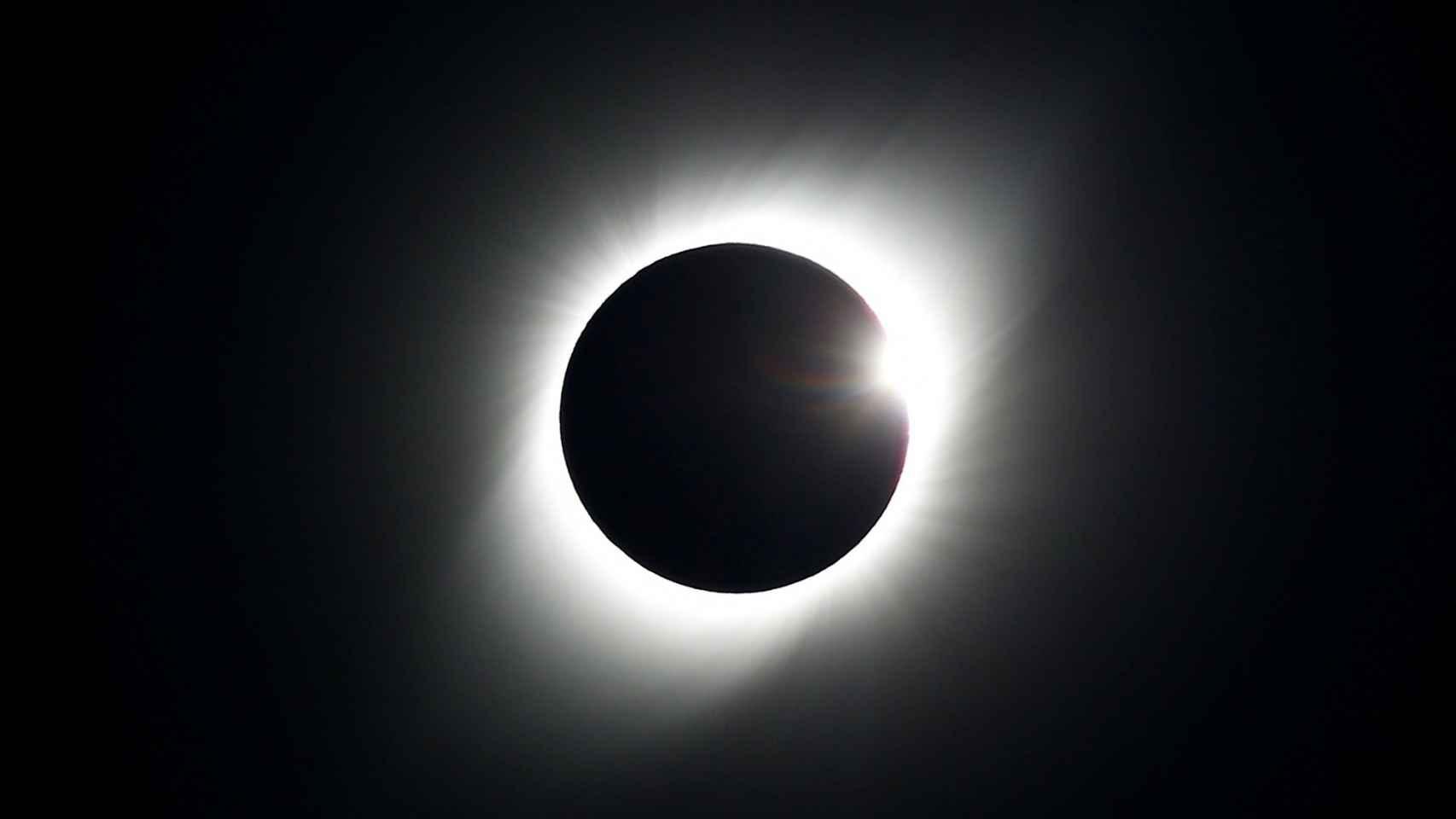 El único eclipse solar total de 2019