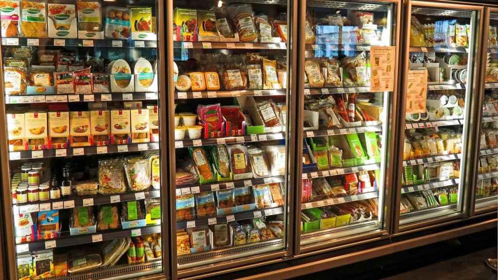 Una imagen de archivo de un supermercado.