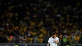 Messi, tras acabar el partido ante Brasil