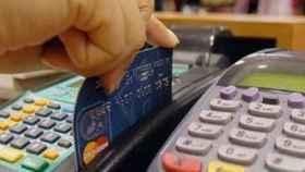 Imagen de una tarjeta de crédito.
