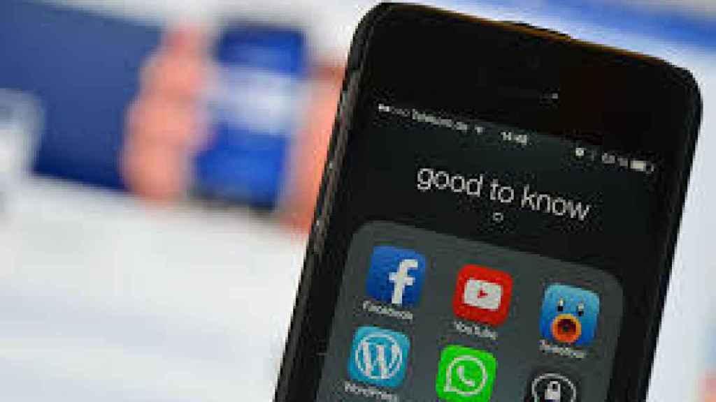 Imagen de archivo de un smartphone.