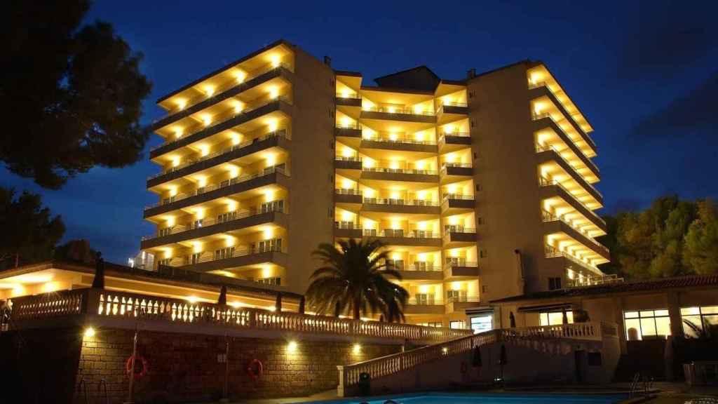Imagen del hotel 'Pax Barracuda' de Magaluf (Mallorca).