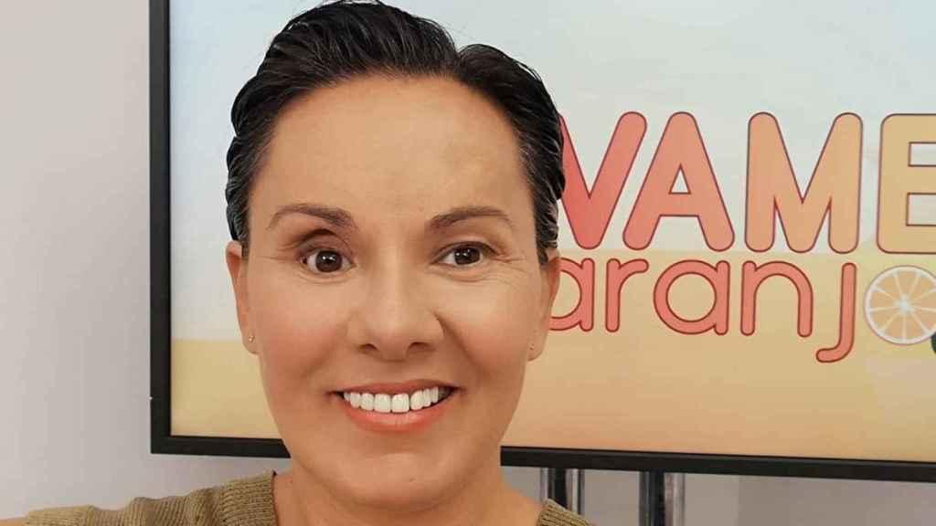 Raquel Morillas en su última colaboración en 'Sálvame'.