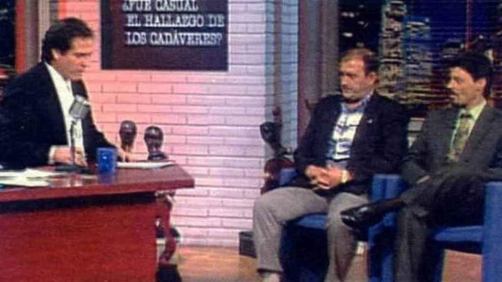 Pepe Navarro, Fernando García y JIB en el Mississippi