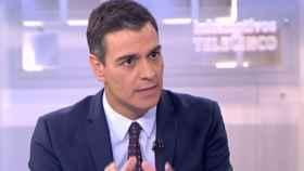 Sánchez este jueves en Telecinco