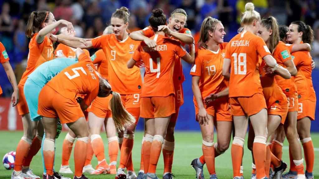 Selección de fútbol femenino de Holanda en el Mundial de Francia 2019