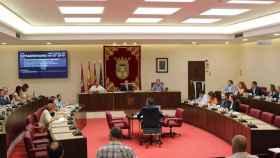 Pleno del Ayuntamiento de Albacete celebrado este jueves