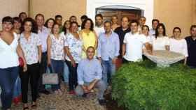 Reunión en Liétor de alcaldes y portavoces del PP en pueblos de la Sierra del Segura y Campos de Hellín