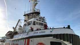 El barco Open Arms.