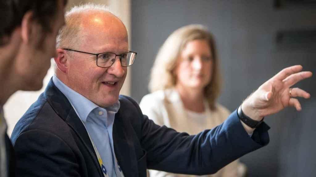 Philip Lane, economista jefe del BCE.