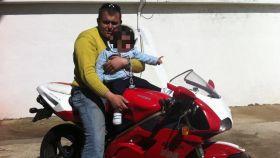 Francisco Javier, muerto en un accidente de tráfico.