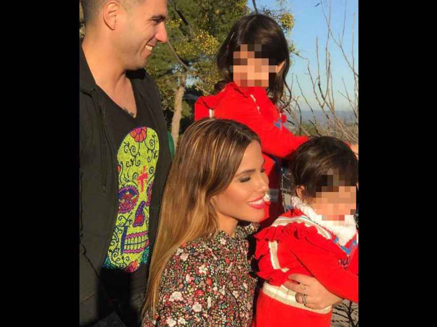 La foto con la que Noelia López ha felicitado a su hija en Instagram.