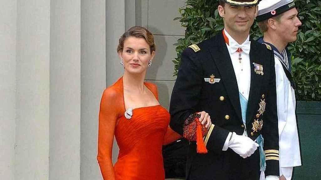 La reina Letizia y Felipe en su estreno internacional en Copenhague.