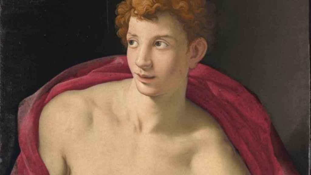 Retrato de un joven como san Sebastián (1533)