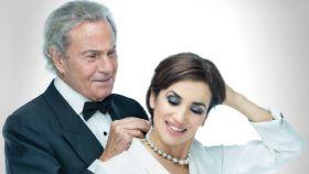 Arturo Fernández y Carmen del Valle en el cartel de 'Alta seducción'.