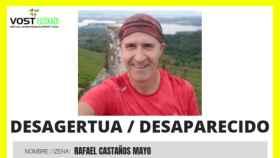 Imagen de la desaparición de Rafael.