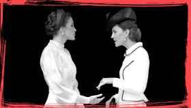 La reina Letizia y Kate Middleton.