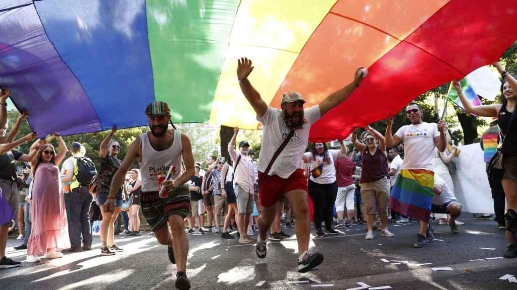 Desfile del Orgullo Gay 2019 en Madrid.