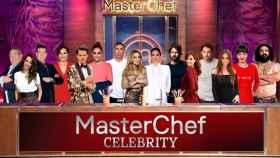 Ana Obregón y Tamara Falcó junto a todos sus compañeros de  'MasterChef Celebrity'.