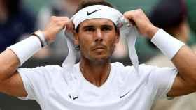 Rafa Nadal, en Wimbledon 2019