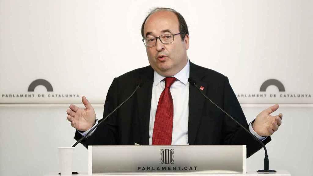 El líder del PSC Miquel Iceta