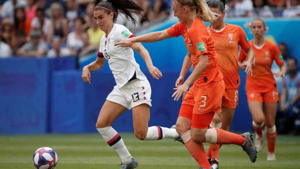 Alex Morgan, en la final del Mundial femenino de Francia 2019 entre Estados Unidos y Holanda
