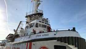 Barco de Open Arms.