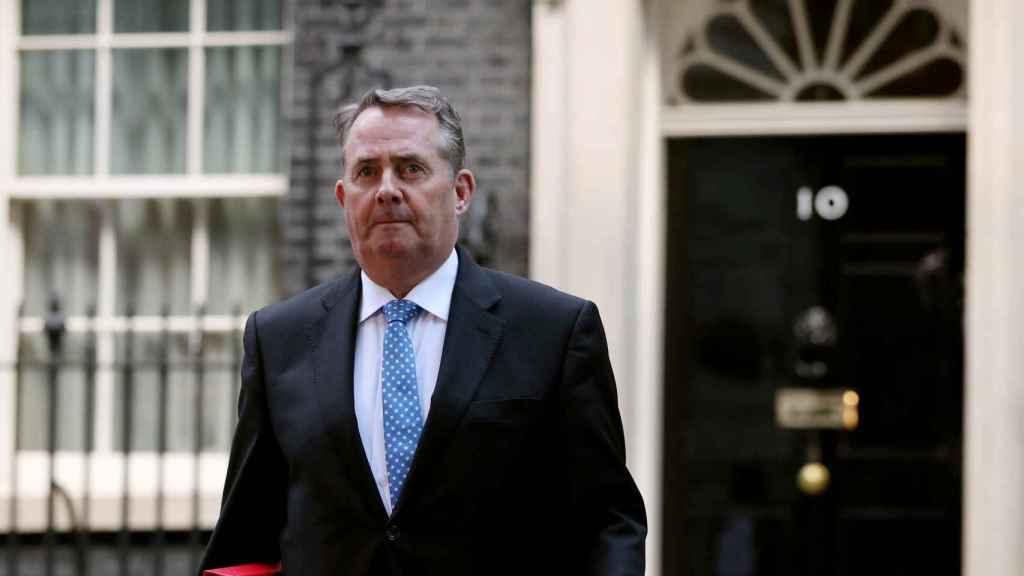 El ministro de Comercio del Reino Unido, Liam Fox