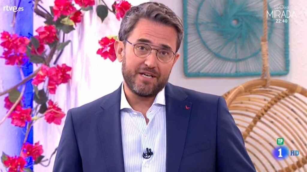 Màxim Huerta en la presentación de su nuevo programa de TVE.