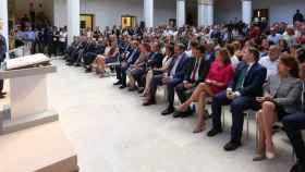 García-Page durante su intervención. Fotos: Óscar Huertas