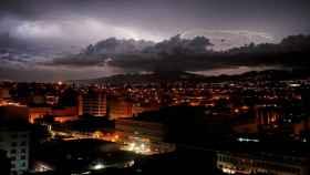 Tormenta eléctrica. EFE/Esteban Biba.