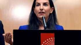 Rocío Monasterio, número 1 de Vox en la Asamblea de Madrid.