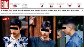 Los tres menores de 14 años, sospechosos de violación.