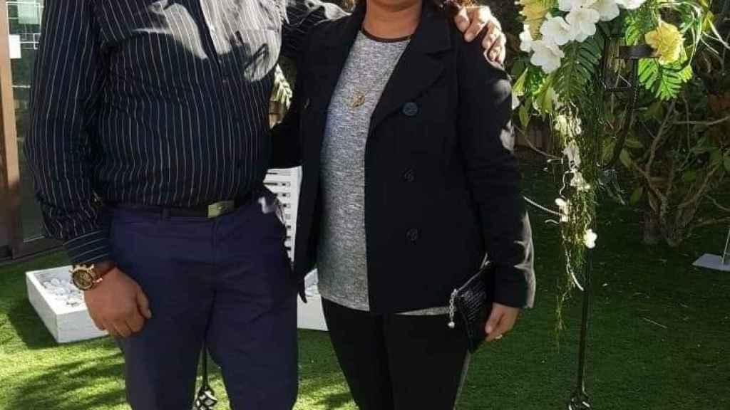 Monika Asenova junto a su marido, Biser, que supuestamente la ha asesinado este lunes en Burgos.