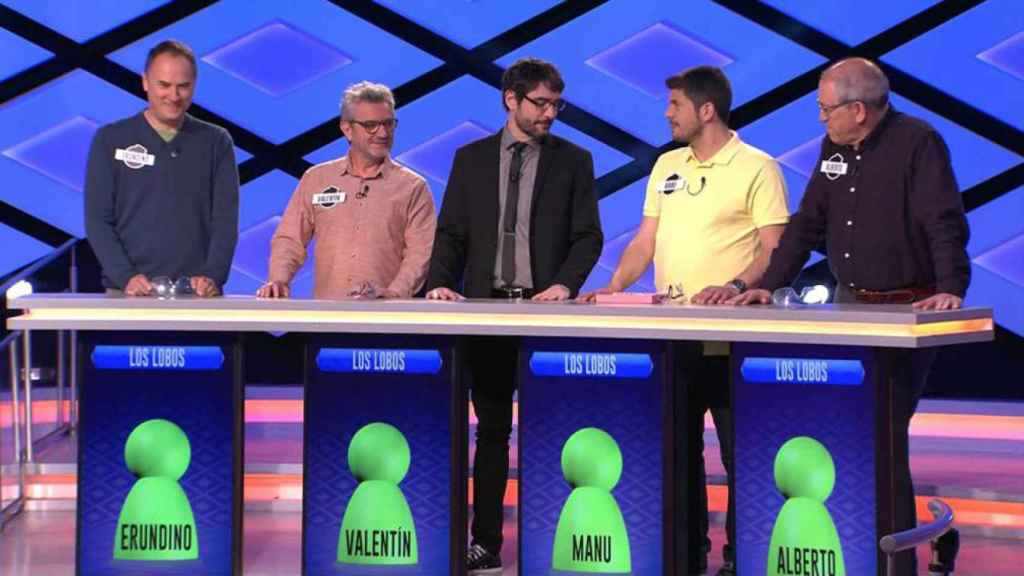 Eurondino, Valentín, Manu y Alberto, en '¡Boom!'.