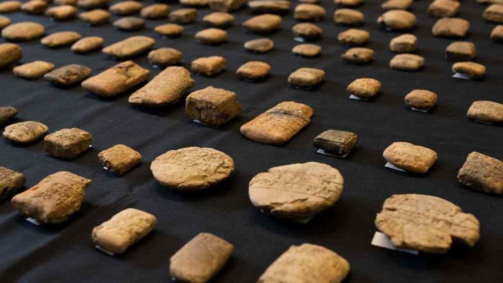 Las tablas cuneiformes que regresarán a Irak.