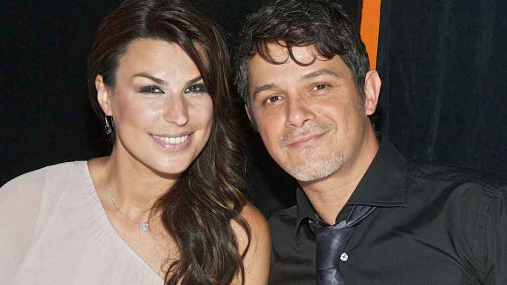 La empresaria Raquel Perera y el cantante Alejandro Sanz.