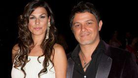 Raquel Perera y Alejandro Sanz en una imagen de archivo.