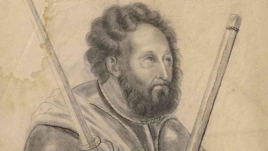 Retrato de Rodrigo Díaz de Vivar.
