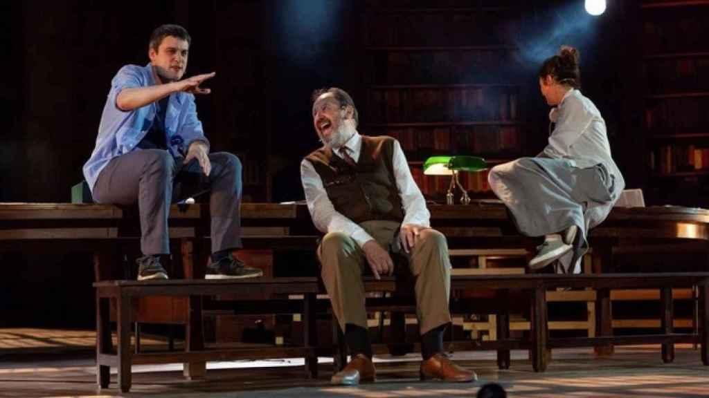 Una imagen de la obra teatral.