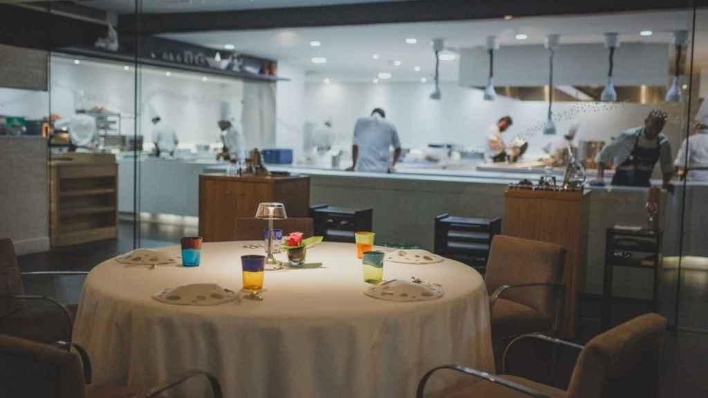 Interior de uno de los mejores restaurantes seleccionados por TripAdvisor.
