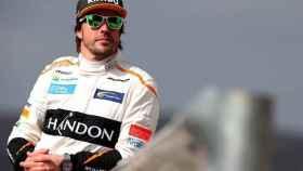 Fernando Alonso durante su última temporada en McLaren