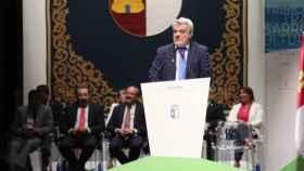 Millán Salcedo durante el Día de la Región en 2018. Foto: Óscar Huertas