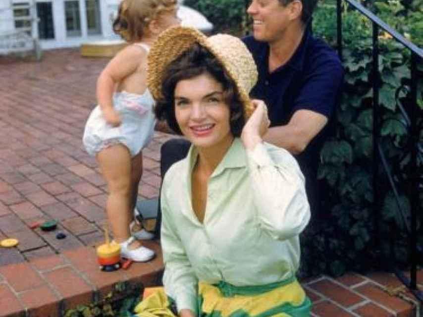 La familia Kennedy disfrutando del periodo estival lejos de la Casa Blanca.