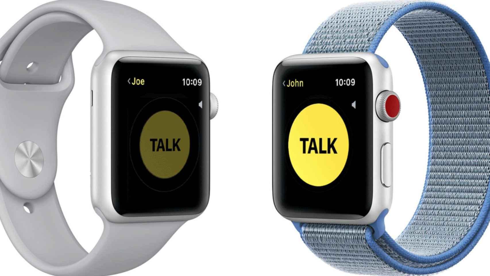 apple watch walkie talkie 1