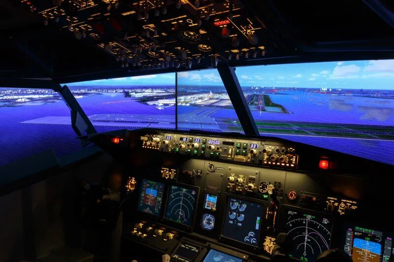 Simulador de vuelo 4