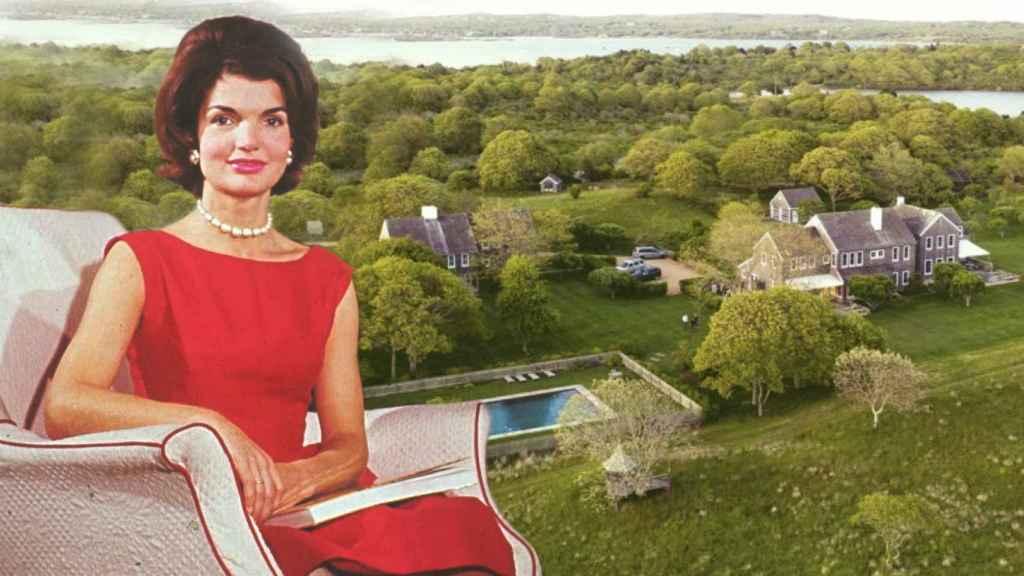 Jackie y John Fitzgerald Kennedy pasaban los veranos en esta gran vivienda.