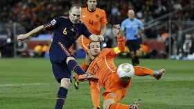 Gol de Iniesta para dar el Mundial de 2010 a España.